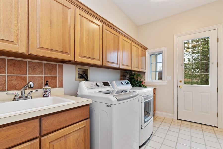Real Estate Photography - 29040 N. Spoon Court, Mundelein, IL, 60060 - Laundry Room