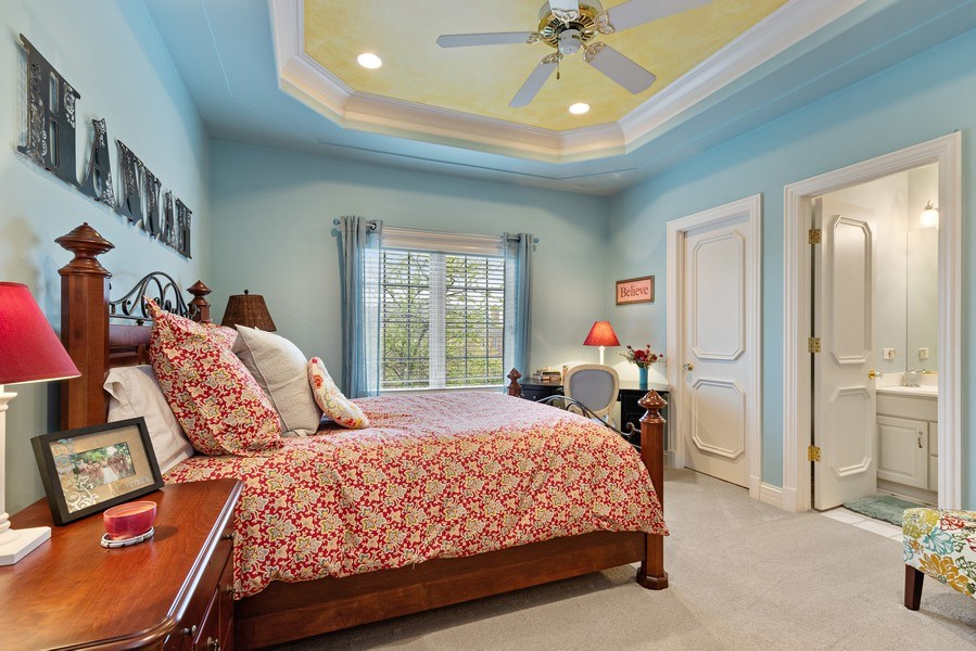 Real Estate Photography - 29040 N. Spoon Court, Mundelein, IL, 60060 - 2nd Bedroom