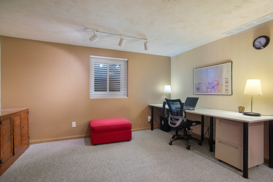 Real Estate Photography - 131 N. Gibbons Avenue, Arlington Heights, IL, 60004 - Lower Level Office