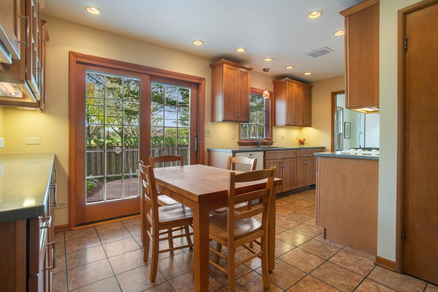 Real Estate Photography - 131 N. Gibbons Avenue, Arlington Heights, IL, 60004 - Eat in Kitchen