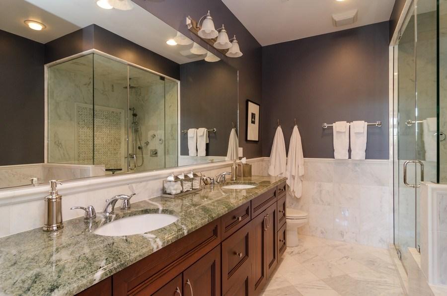 Real Estate Photography - 2620 N. RACINE Avenue, Unit PH, Chicago, IL, 60614 - Master Bathroom