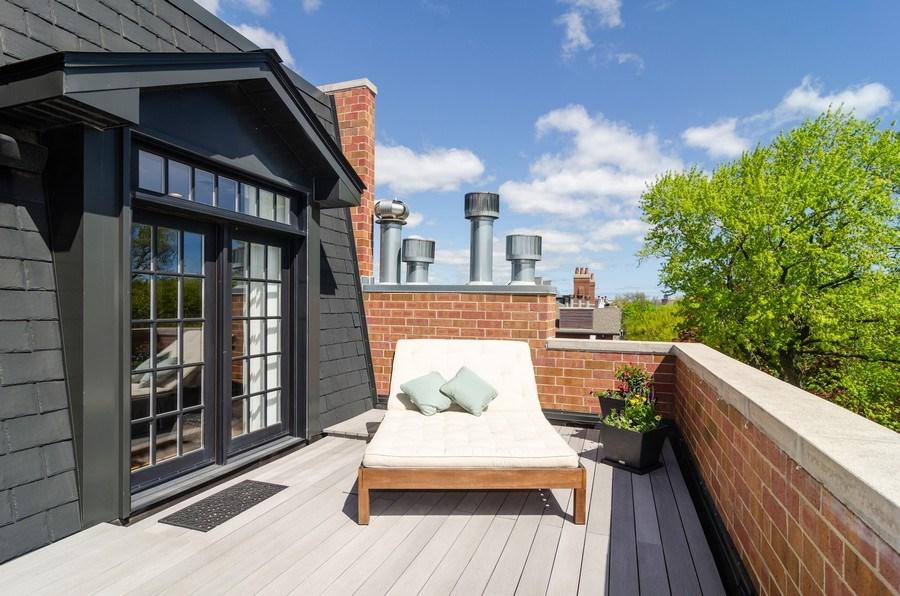 Real Estate Photography - 2620 N. RACINE Avenue, Unit PH, Chicago, IL, 60614 - Front Terrace
