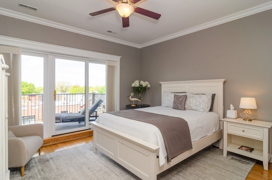 Real Estate Photography - 2620 N. RACINE Avenue, Unit PH, Chicago, IL, 60614 - 2nd Bedroom
