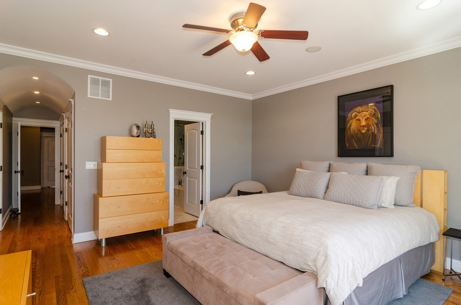Real Estate Photography - 2620 N. RACINE Avenue, Unit PH, Chicago, IL, 60614 - Master Bedroom