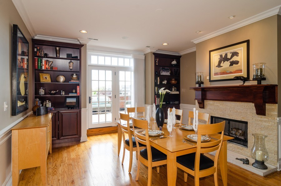 Real Estate Photography - 2620 N. RACINE Avenue, Unit PH, Chicago, IL, 60614 - Dining Room