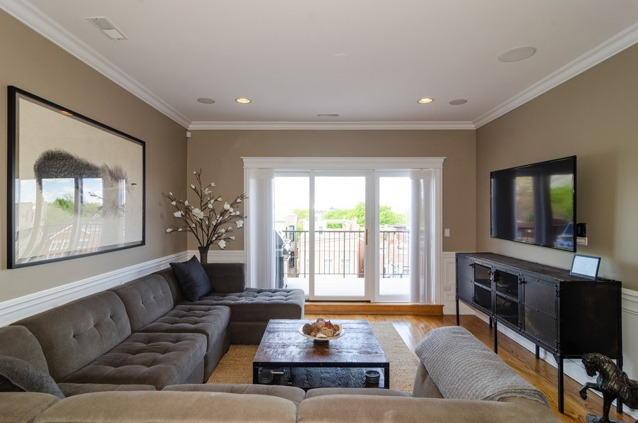 Real Estate Photography - 2620 N. RACINE Avenue, Unit PH, Chicago, IL, 60614 - Family Room