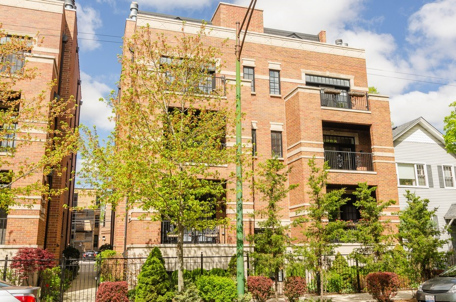 Real Estate Photography - 2620 N. RACINE Avenue, Unit PH, Chicago, IL, 60614 - Front View