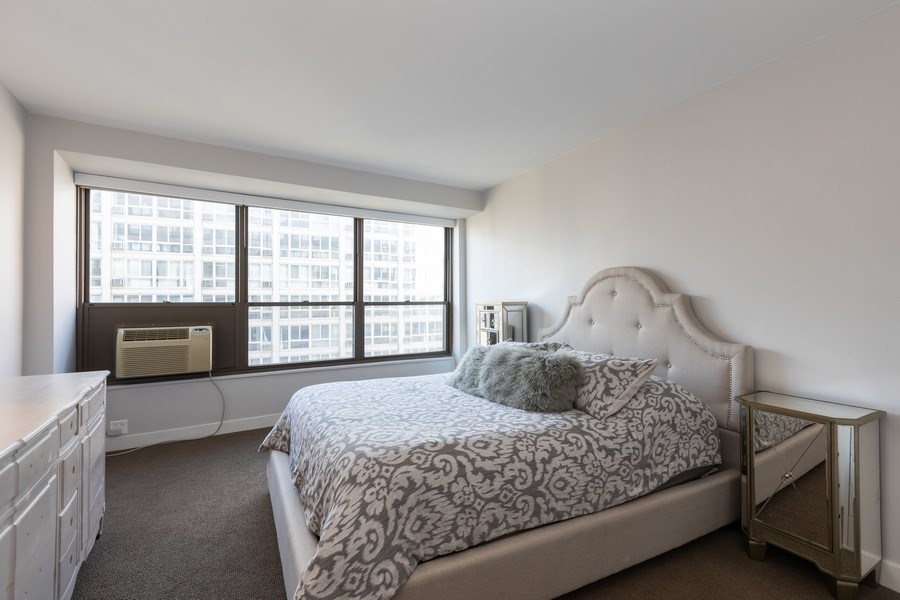 Real Estate Photography - 2930 N. Sheridan Road, Unit 1109, Chicago, IL, 60657 - Bedroom