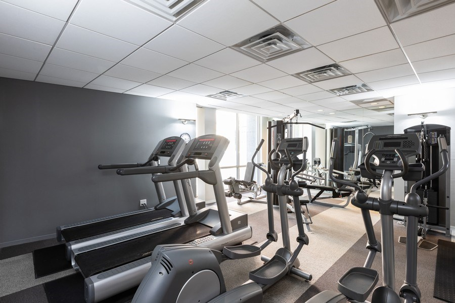 Real Estate Photography - 2930 N. Sheridan Road, Unit 1109, Chicago, IL, 60657 - Exercise Room