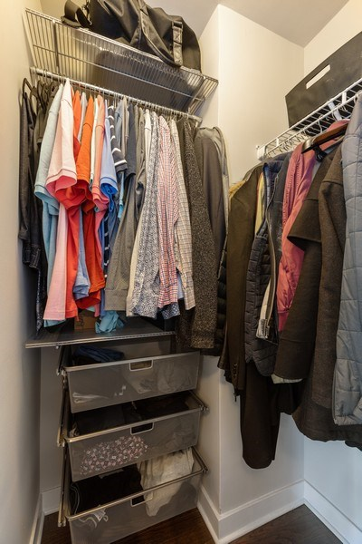 Real Estate Photography - 2930 N. Sheridan Road, Unit 1109, Chicago, IL, 60657 - Closet