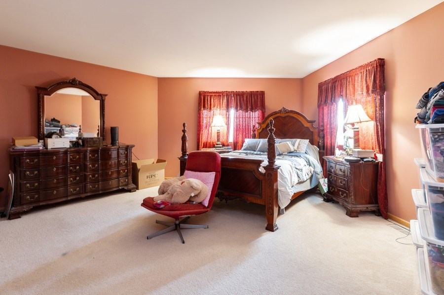 Real Estate Photography - 1200 Jerome Court, Antioch, IL, 60002 - Master Bedroom