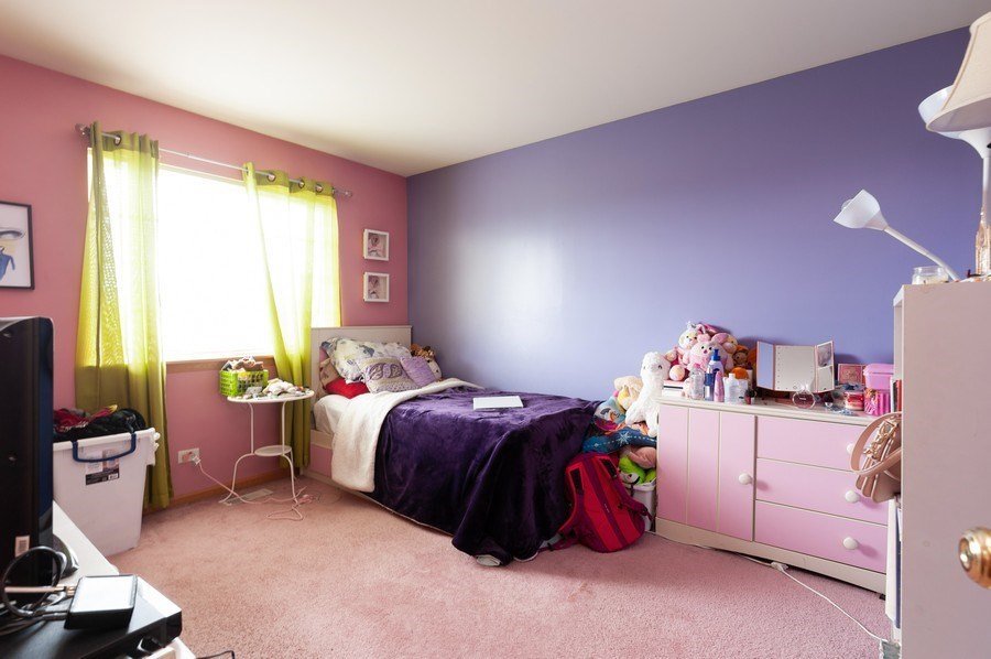 Real Estate Photography - 1200 Jerome Court, Antioch, IL, 60002 - 2nd Bedroom