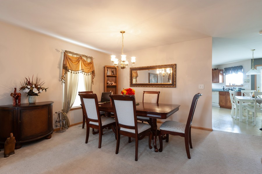Real Estate Photography - 1200 Jerome Court, Antioch, IL, 60002 - Dining Room