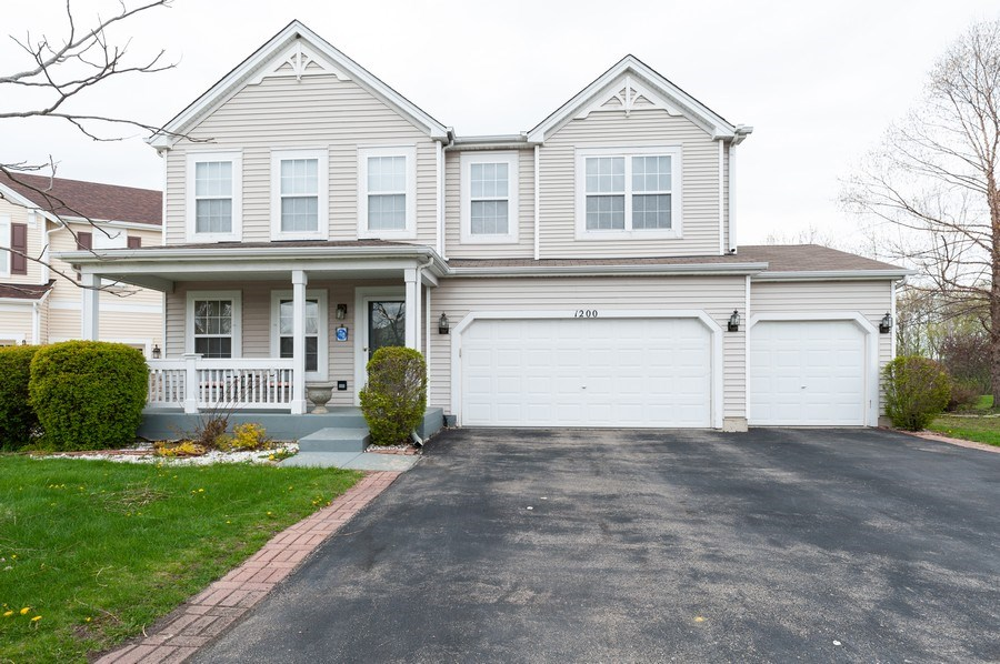 Real Estate Photography - 1200 Jerome Court, Antioch, IL, 60002 - Front View