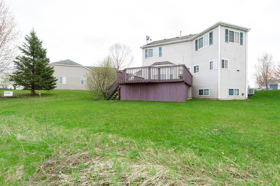 Real Estate Photography - 1200 Jerome Court, Antioch, IL, 60002 - Rear View