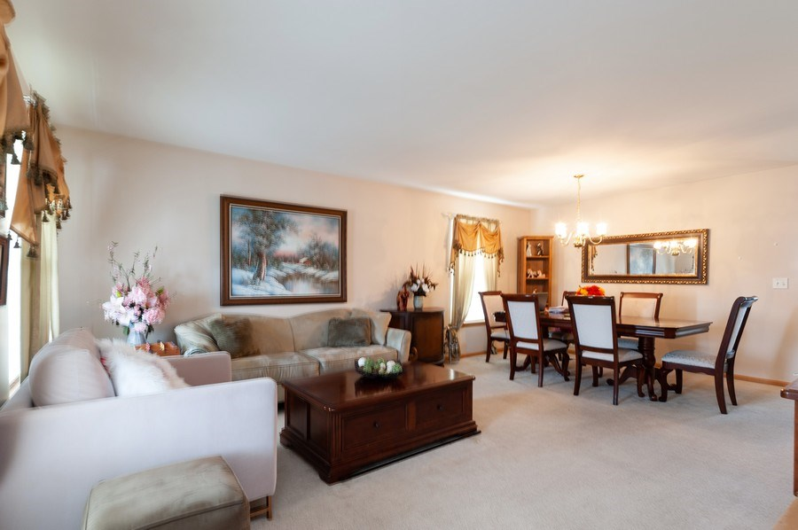 Real Estate Photography - 1200 Jerome Court, Antioch, IL, 60002 - Living Room / Dining Room