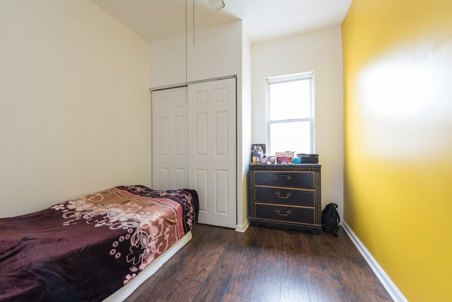 Real Estate Photography - 5837 N. Washtenaw Avenue, Chicago, IL, 60659 - 3rd Bedroom - 2nd floor