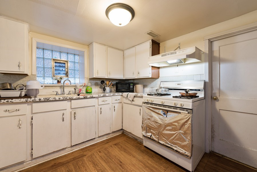 Real Estate Photography - 5837 N. Washtenaw Avenue, Chicago, IL, 60659 - Kitchen - B unit