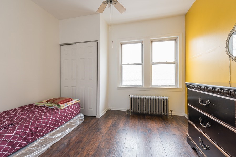 Real Estate Photography - 5837 N. Washtenaw Avenue, Chicago, IL, 60659 - 2nd Bedroom - 2nd floor