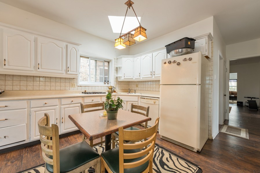 Real Estate Photography - 5837 N. Washtenaw Avenue, Chicago, IL, 60659 - Kitchen - 2nd floor