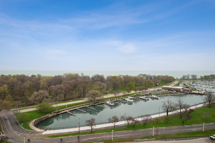 Real Estate Photography - 3530 N. Lake Shore Drive, Unit 11B, Chicago, IL, 60657 - View