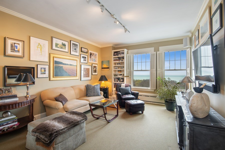 Real Estate Photography - 3530 N. Lake Shore Drive, Unit 11B, Chicago, IL, 60657 - 2nd Bedroom