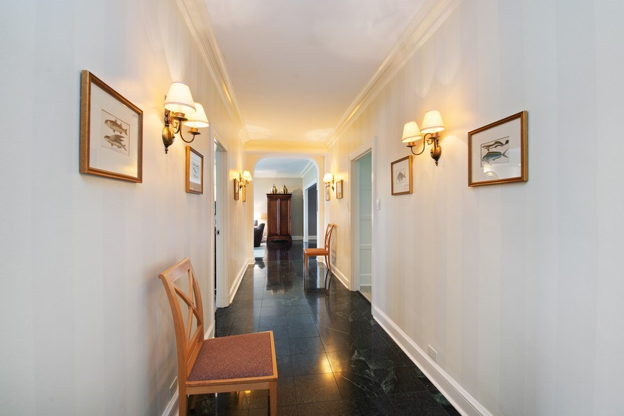 Real Estate Photography - 3530 N. Lake Shore Drive, Unit 11B, Chicago, IL, 60657 - Gallery, from Entry to Living Room