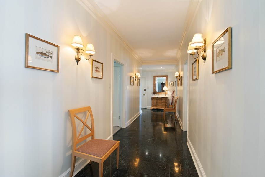 Real Estate Photography - 3530 N. Lake Shore Drive, Unit 11B, Chicago, IL, 60657 - Gallery, from Living Room to Entry