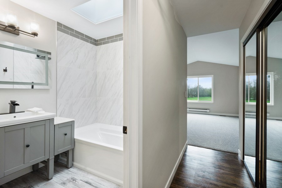 Real Estate Photography - 981 Fairway Circle, Lake Barrington, IL, 60010 - Master Bathroom