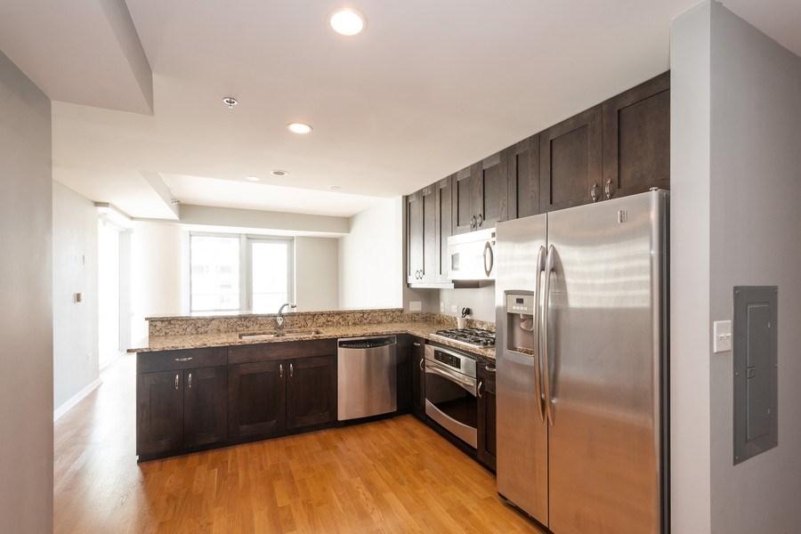 Real Estate Photography - 160 E. ILLINOIS Street, Unit 1903, Chicago, IL, 60611 - Kitchen