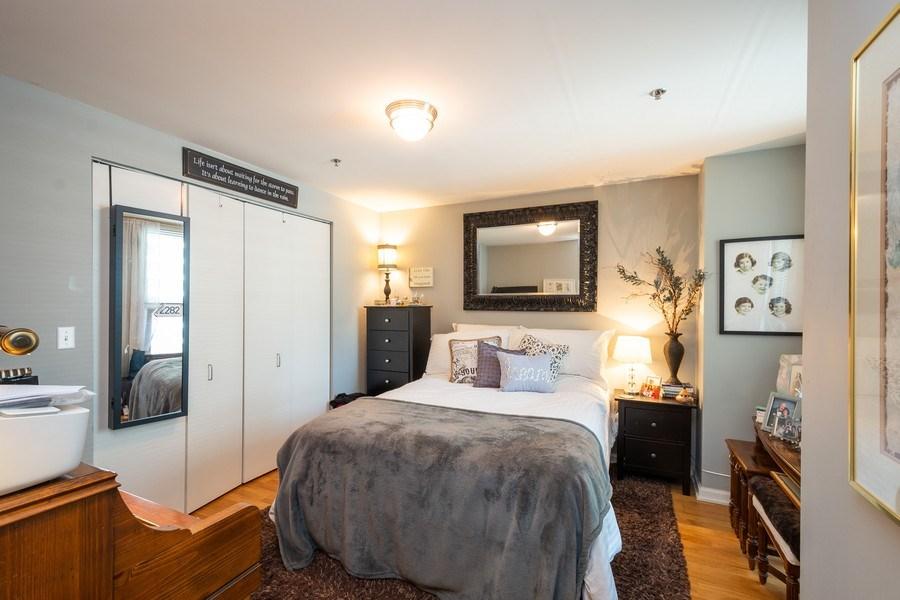Real Estate Photography - 160 E. ILLINOIS Street, Unit 1903, Chicago, IL, 60611 - Bedroom