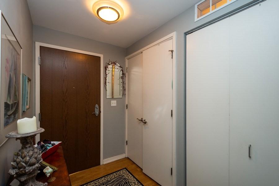Real Estate Photography - 160 E. ILLINOIS Street, Unit 1903, Chicago, IL, 60611 - Foyer