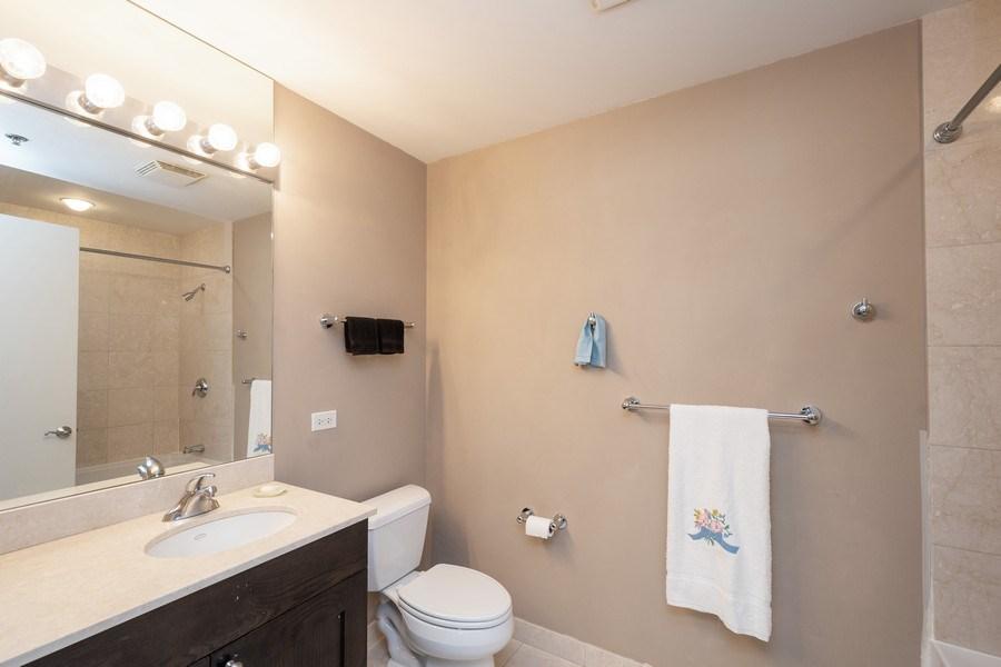 Real Estate Photography - 160 E. ILLINOIS Street, Unit 1903, Chicago, IL, 60611 - Bathroom