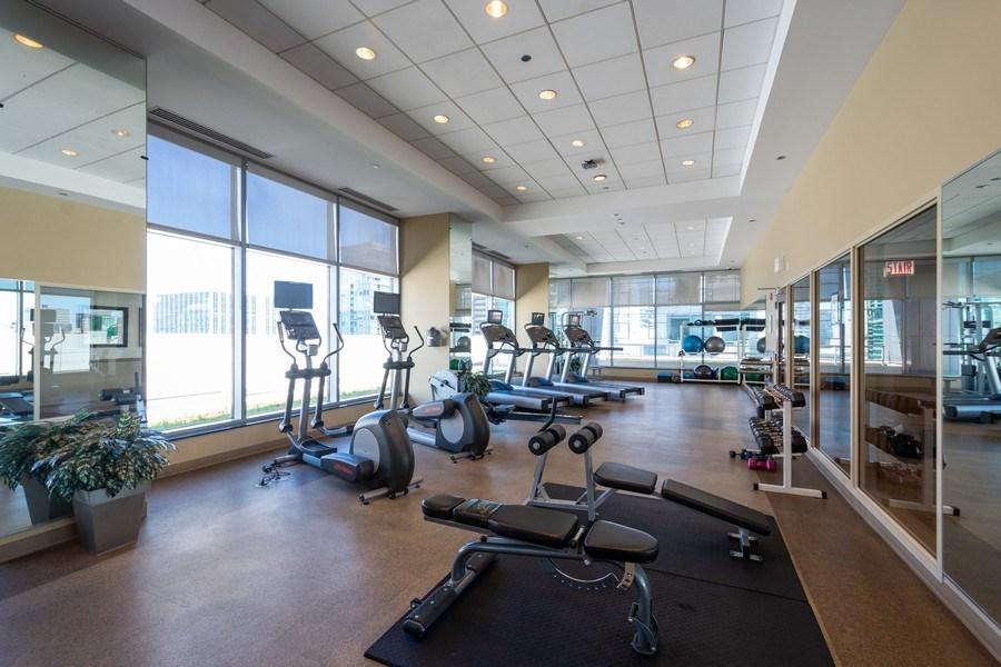 Real Estate Photography - 160 E. ILLINOIS Street, Unit 1903, Chicago, IL, 60611 - Fitness Center