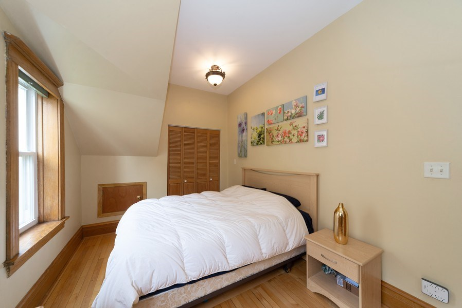 Real Estate Photography - 2416 N. Fairfield Avenue, Unit 2, Chicago, IL, 60647 - Master Bedroom