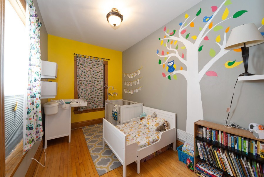 Real Estate Photography - 2416 N. Fairfield Avenue, Unit 2, Chicago, IL, 60647 - Bedroom