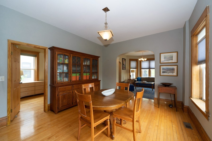 Real Estate Photography - 2416 N. Fairfield Avenue, Unit 2, Chicago, IL, 60647 - Dining Room