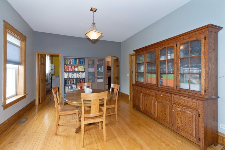 Real Estate Photography - 2416 N. Fairfield Avenue, Unit 2, Chicago, IL, 60647 - Dining Area