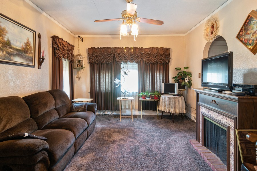 Real Estate Photography - 1312 Circle Avenue, Forest Park, IL, 60130 - Living Room
