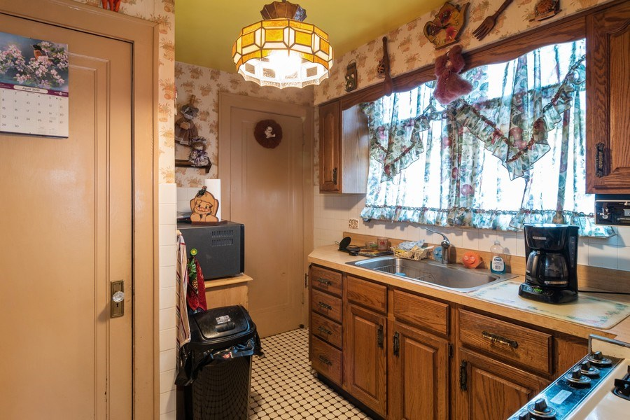 Real Estate Photography - 1312 Circle Avenue, Forest Park, IL, 60130 - Kitchen