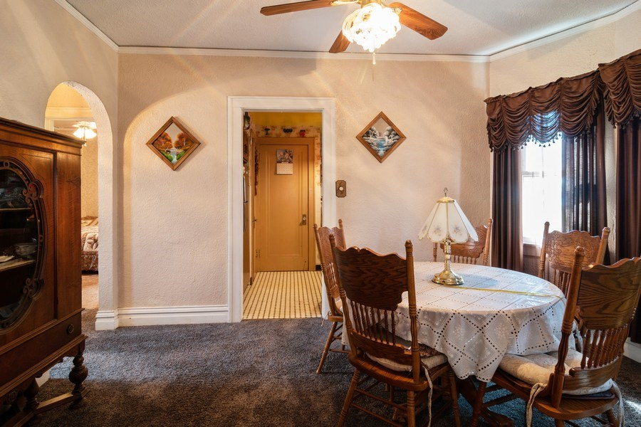 Real Estate Photography - 1312 Circle Avenue, Forest Park, IL, 60130 - Dining Room