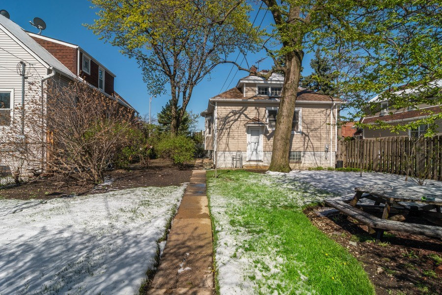 Real Estate Photography - 1312 Circle Avenue, Forest Park, IL, 60130 - Rear View