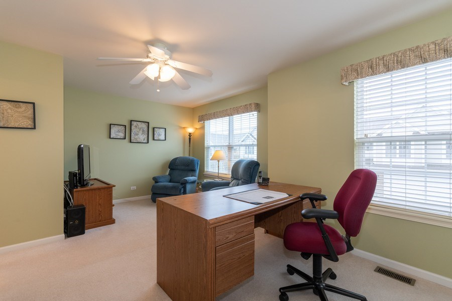 Real Estate Photography - 2759 Borkshire Ln, Aurora, IL, 60502 - 3rd Bedroom