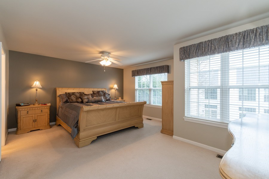 Real Estate Photography - 2759 Borkshire Ln, Aurora, IL, 60502 - Master Bedroom