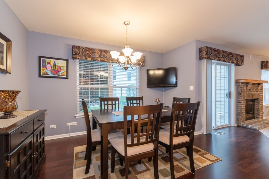 Real Estate Photography - 2759 Borkshire Ln, Aurora, IL, 60502 - Dining Room