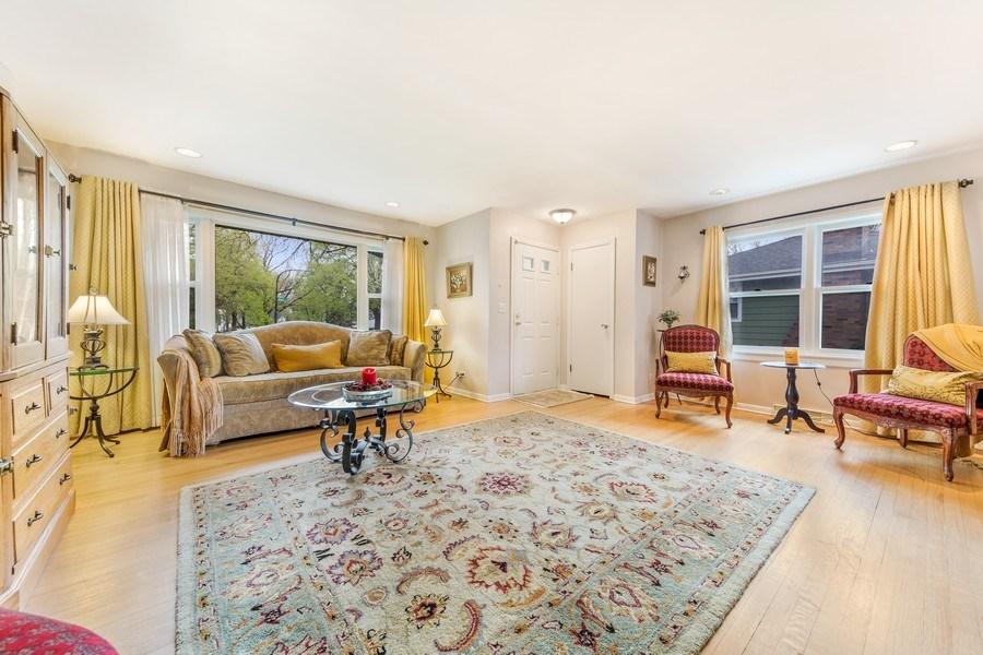 Real Estate Photography - 409 E. HILLSIDE Road, Naperville, IL, 60540 - Living Room