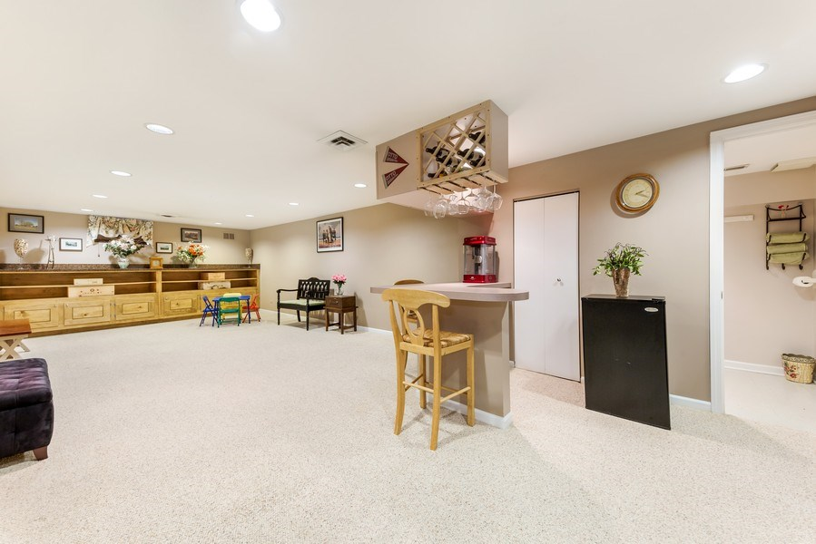 Real Estate Photography - 409 E. HILLSIDE Road, Naperville, IL, 60540 - Recreation Room