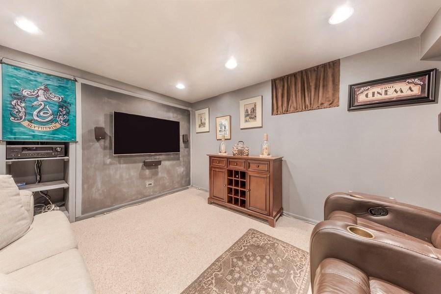 Real Estate Photography - 409 E. HILLSIDE Road, Naperville, IL, 60540 - Media/Office/4th Bedroom