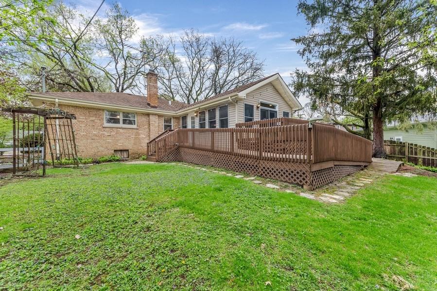 Real Estate Photography - 409 E. HILLSIDE Road, Naperville, IL, 60540 - Back Yard