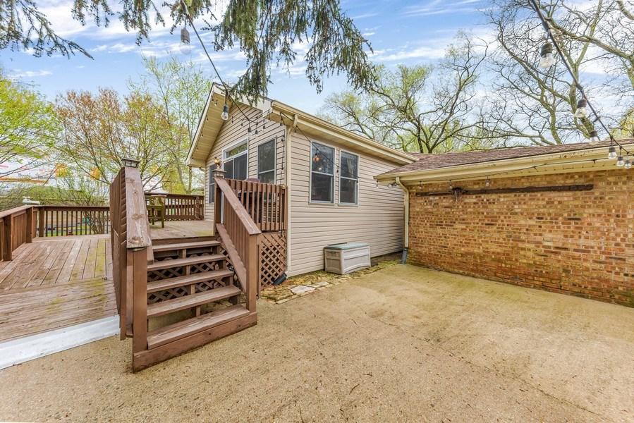 Real Estate Photography - 409 E. HILLSIDE Road, Naperville, IL, 60540 - Patio & Deck